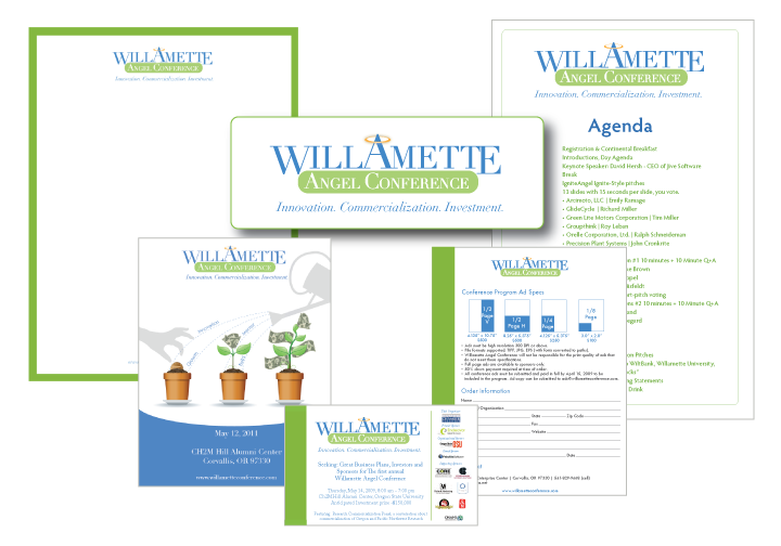 Willamette Angel Conference Brand Identity
