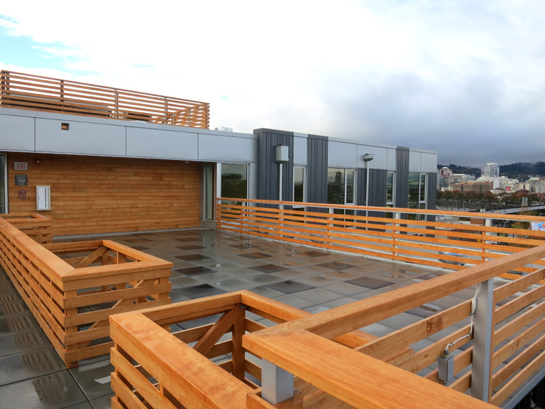 Central Eastside Lofts - Roof Deck