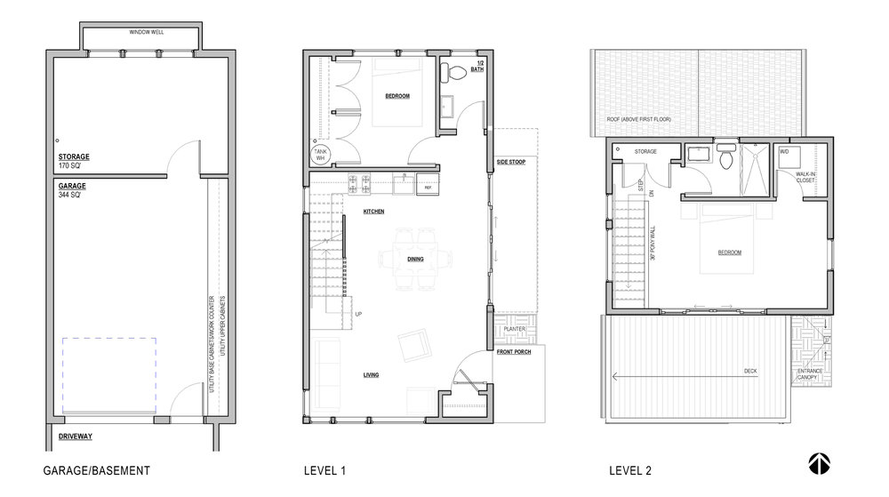 Adu floor plans thefloors co for Adu garage plans