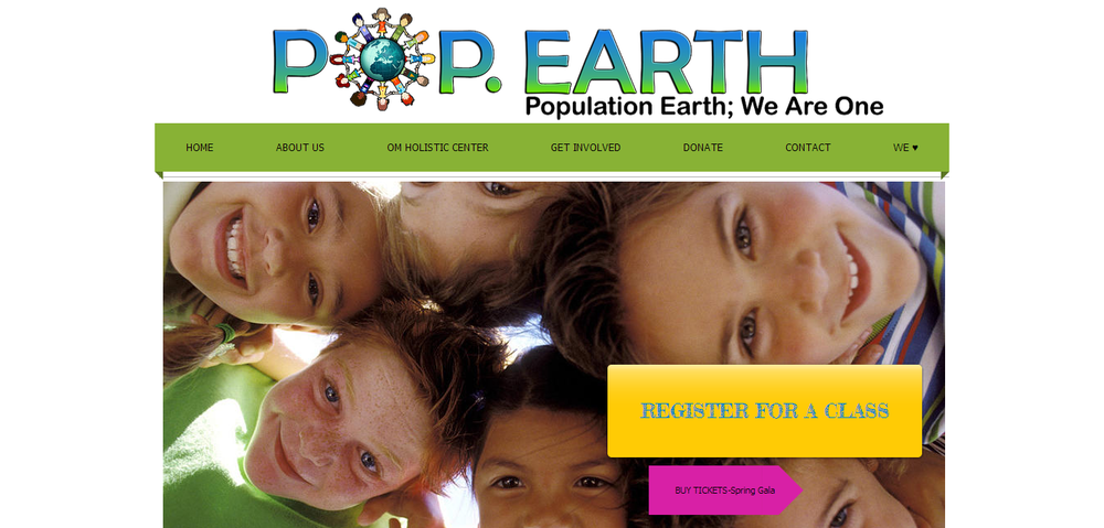 """These people deserve to live rewarding and enriching lives. It's our mission to help them accomplish that.  They deserve love and understanding and it is our goal to provide that.  Help us become ONE."" - Pop.Earth"