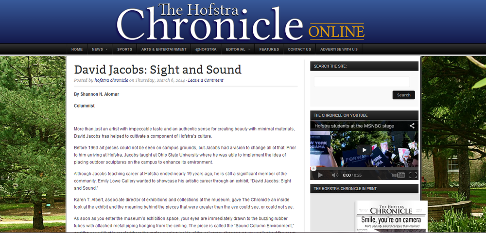Click the photo to visit The Chronicle's site