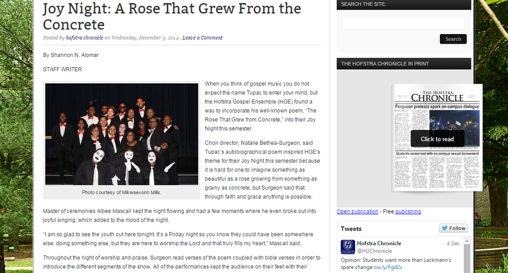 Click here to view this article on The Hofstra Chronicle's site