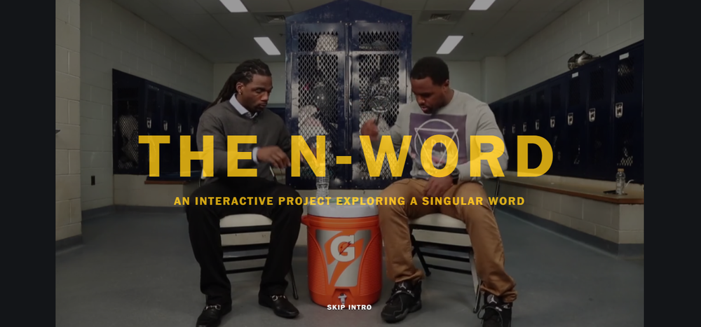 Click the photo to view the N-Word Project on the Washington Post's website
