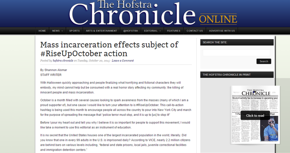 Click here to read article on the Chronicle site.