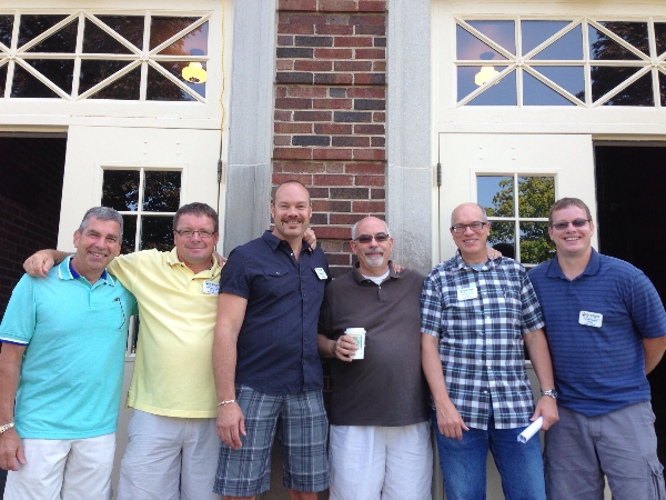 Phil Myers (second from right) leads a team of stellar guest services peeps at our GCC-LaPorte site. A few pictured here: Ed, Steve, Chris, Greg, Phil, Craig