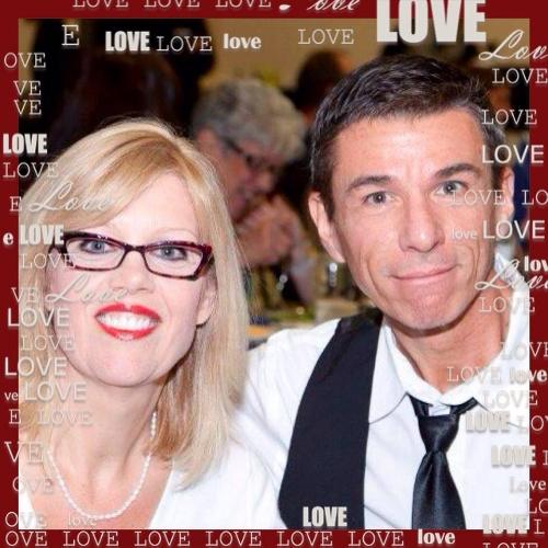 Bob Casto and his bride of 31 years, Lori