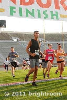 Bob Casto finished THE race Thursday, March 20, 2014