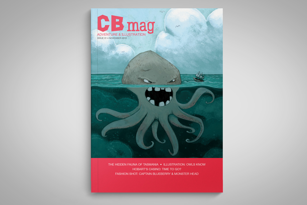 CB Magazine cover