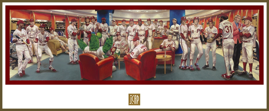 Phillies Dream Team Original Painting
