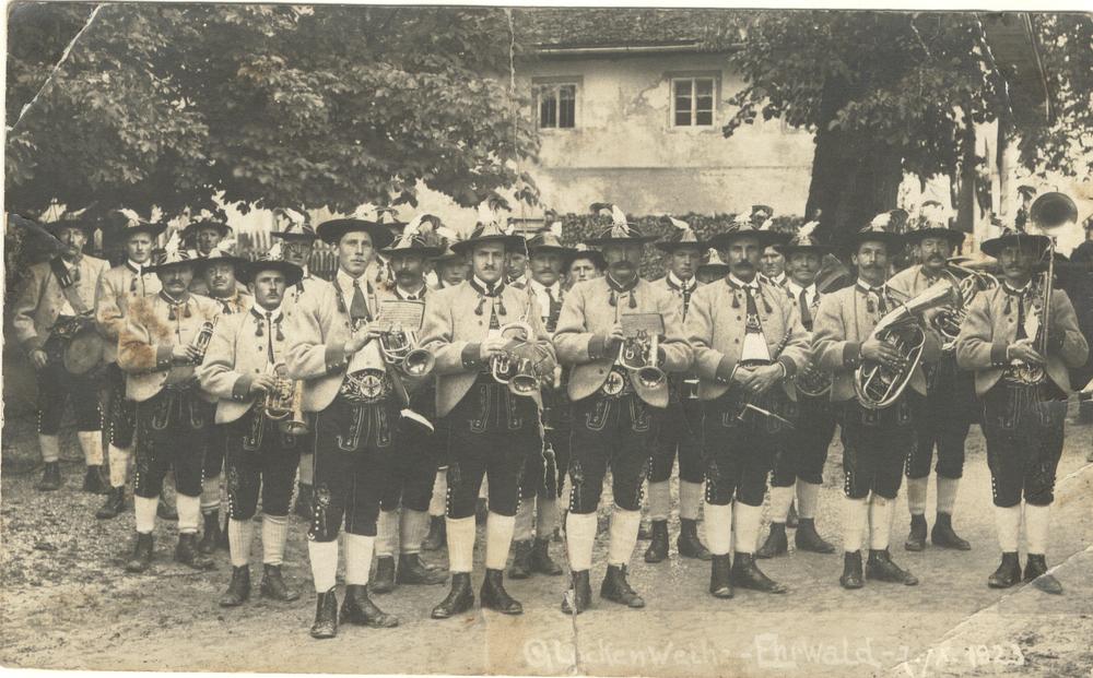 Standkonzert im Jahre 1923