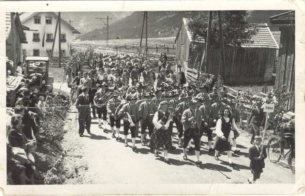 Musikfest im Jahre 1949