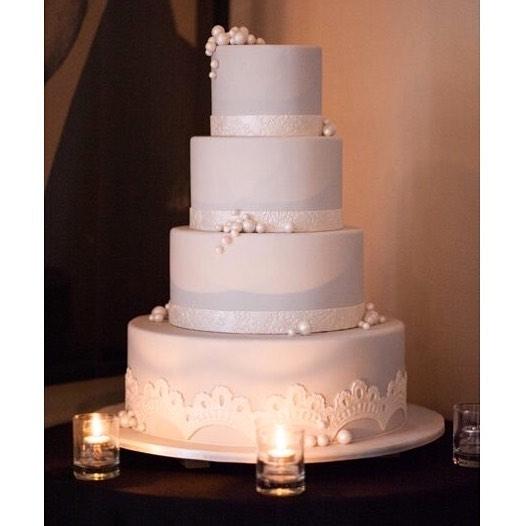 Cornflower Blue Wedding Cake.jpg