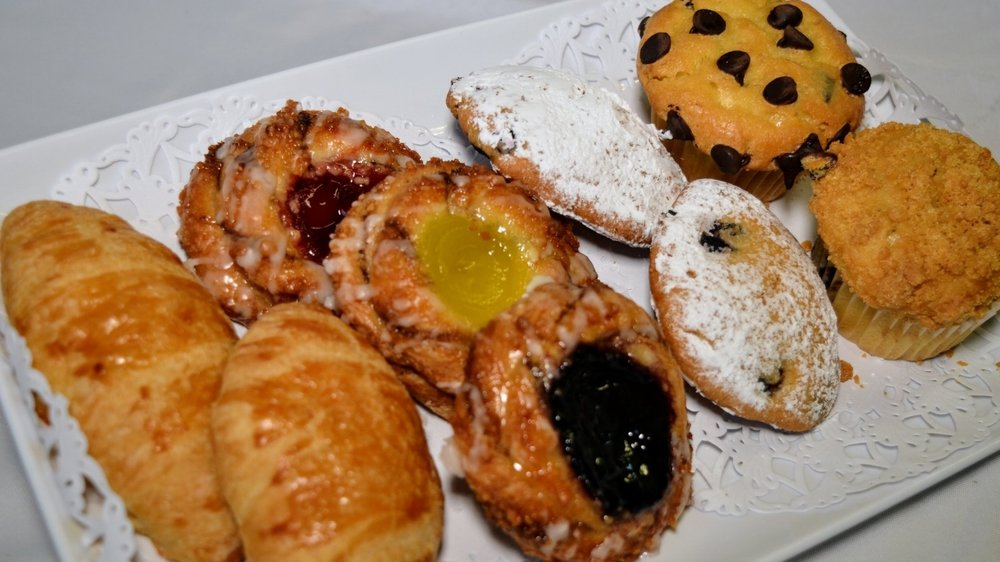 Croissants, Danish, Muffins and more