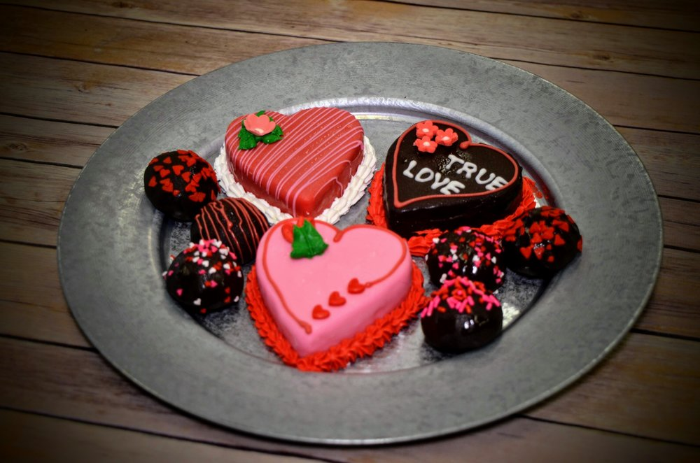 "Valentine's Day Treats - 3"" Cheesecakes & Rudy's Cheesecake Drops"