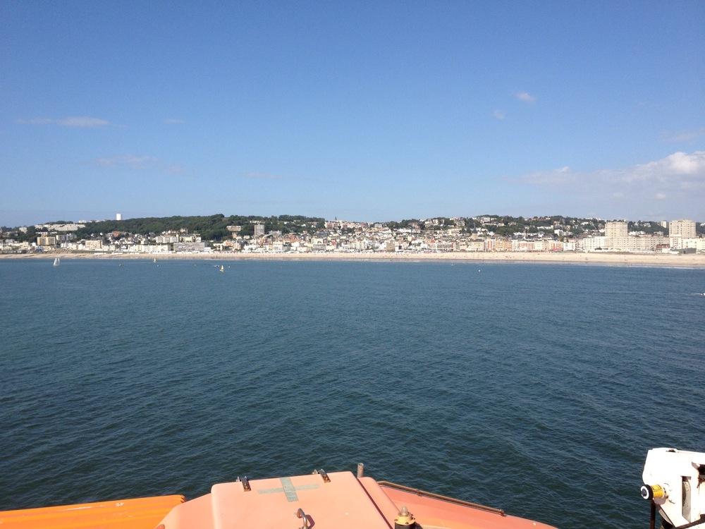 La Harve - the ferry home!