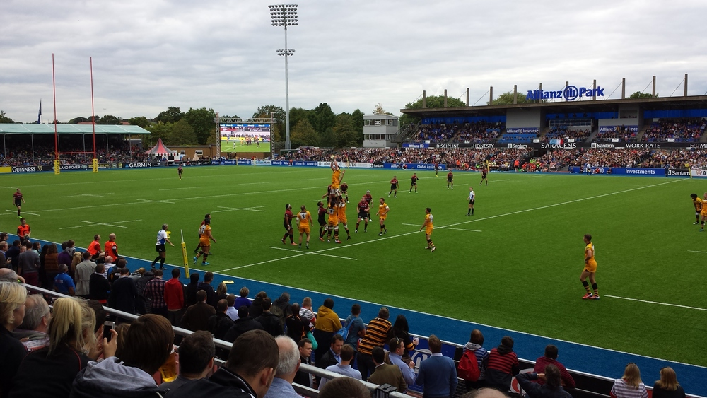 Saracens VS Wasps