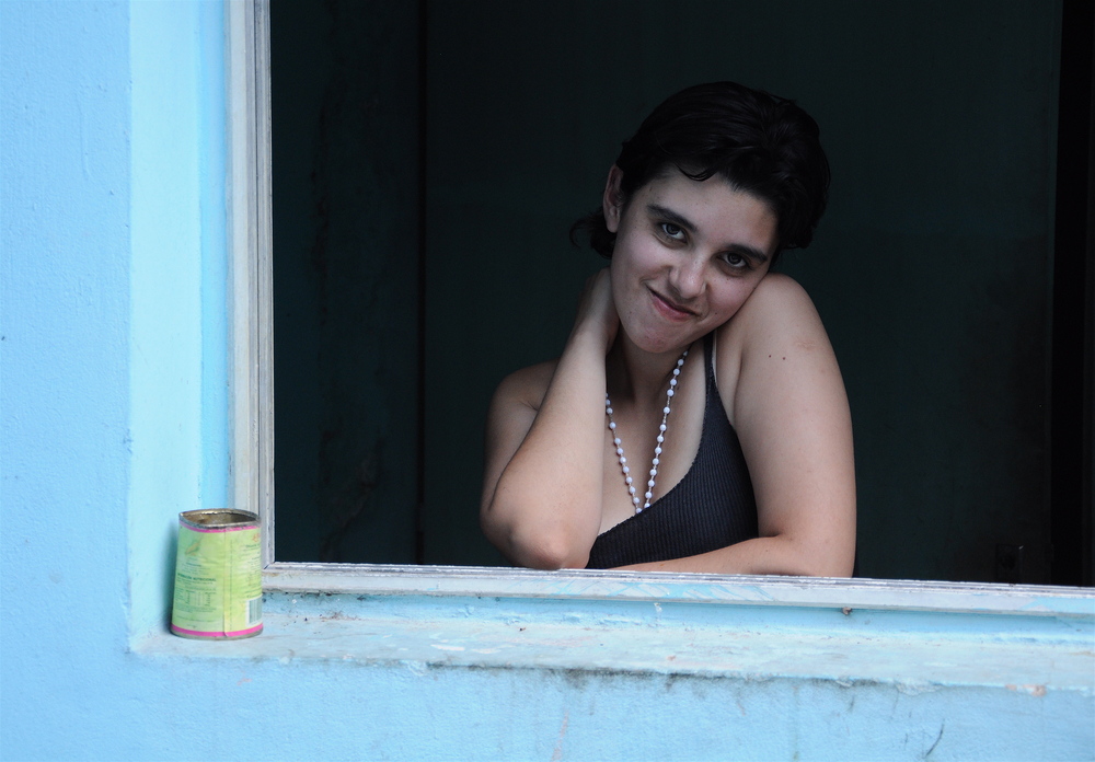 Nazarena in the Window