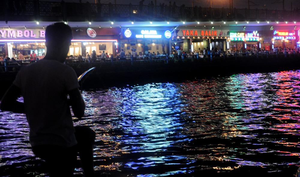 Fishing at the Bosphorus