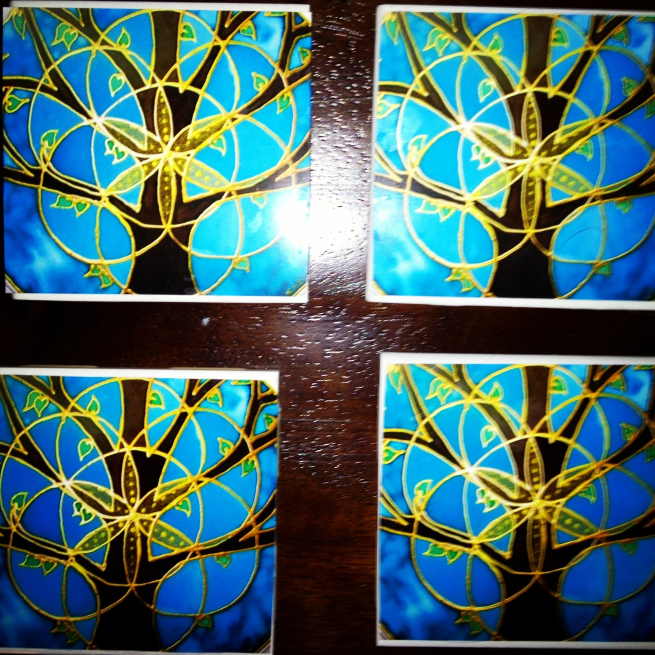 My new coasters #diy
