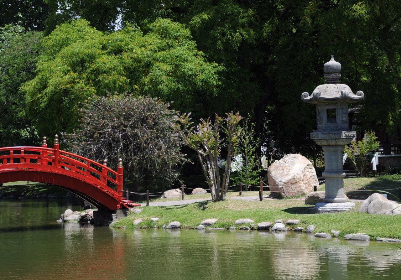 Japanese Garden in Buenos Aires, Argentina