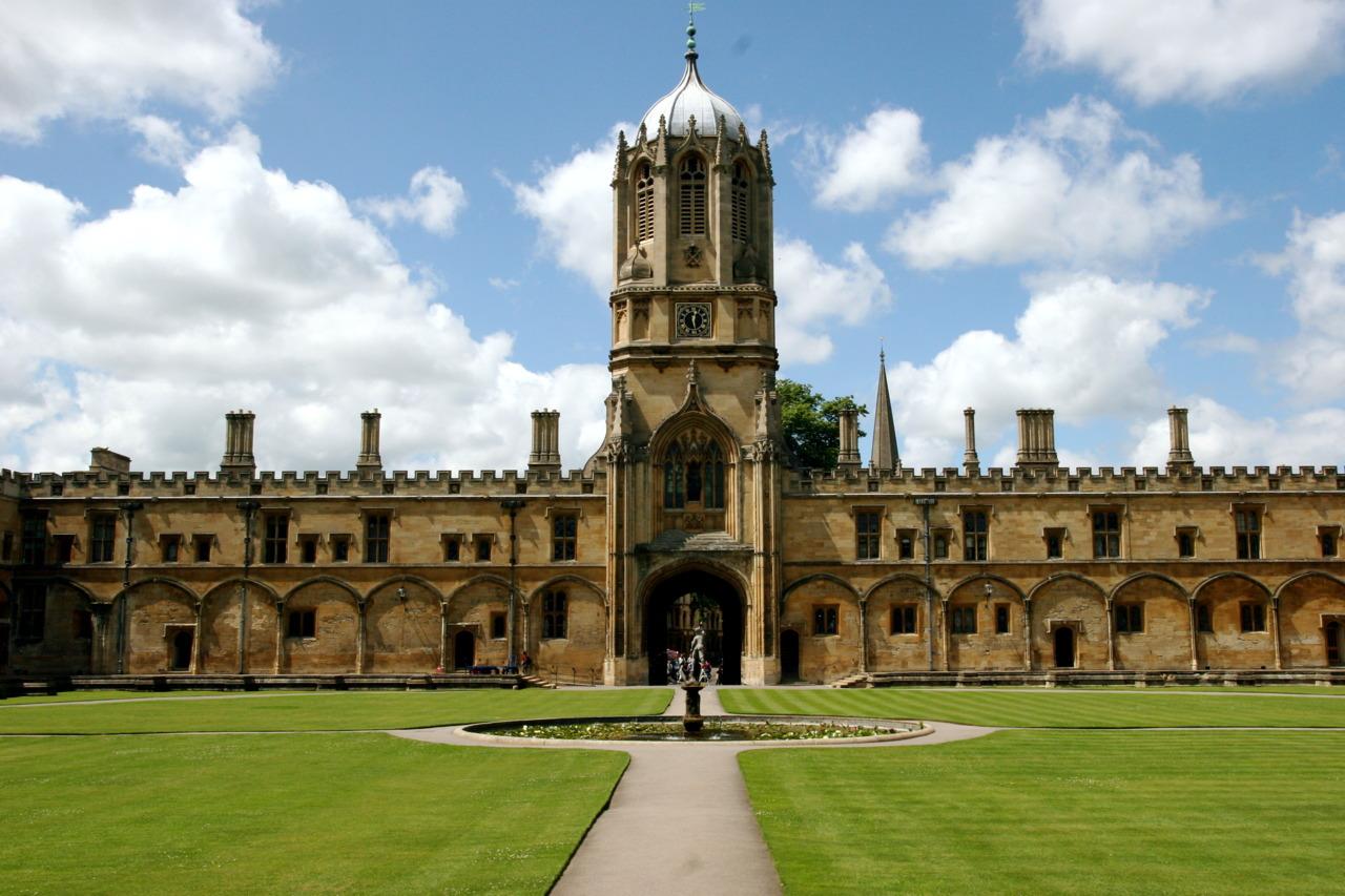 Christ's Churchin Oxford, UK