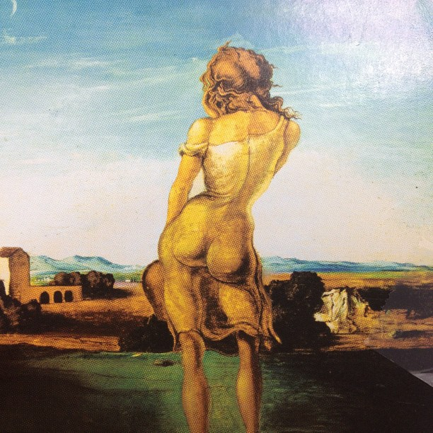 One of Salvador Dali's greatest works: girl with the curls (Taken with  instagram )