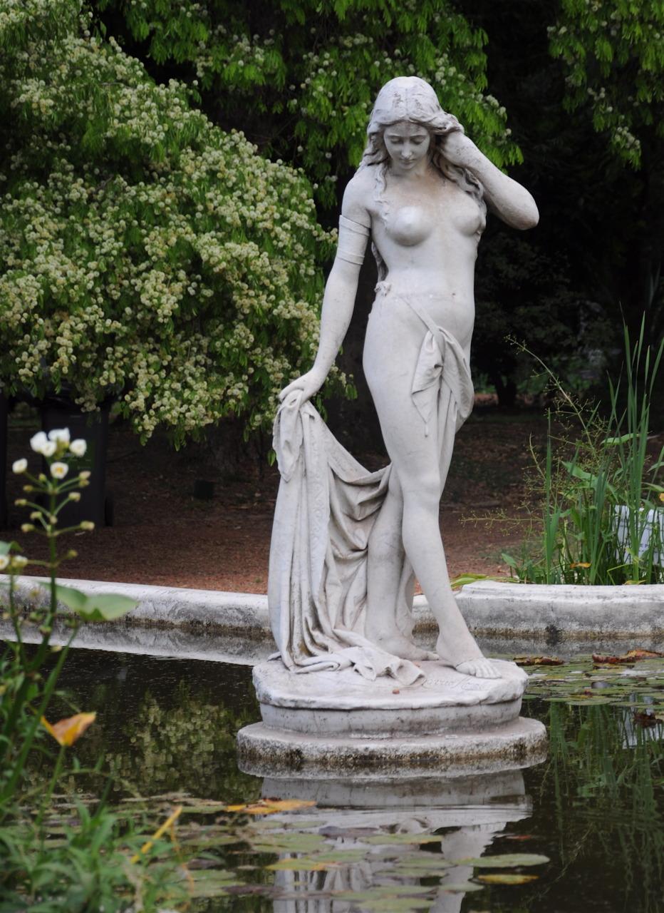Gardens in Palermo, Buenos Aires, Argentina.