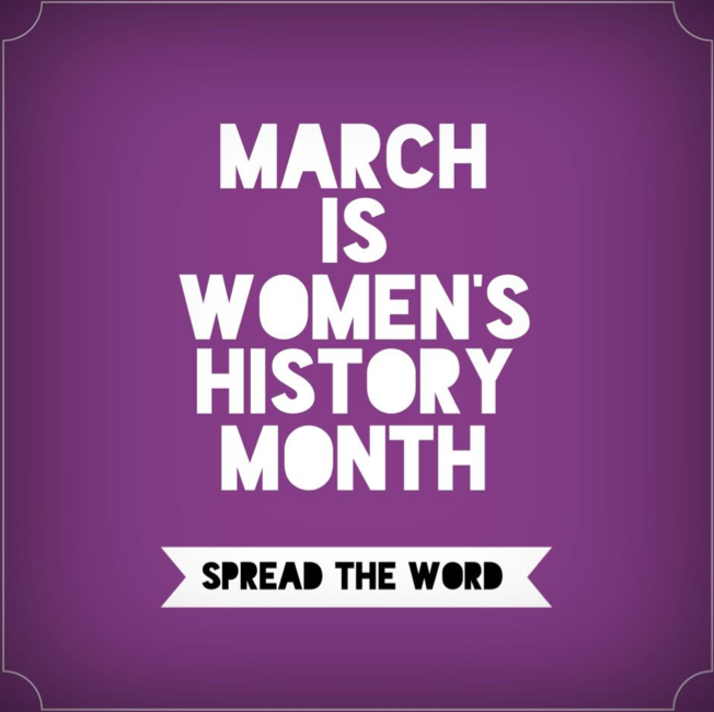 March is Women's History Month! Spread the Word. #VAWA #women #empowerment