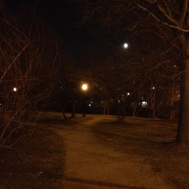 Full moon in DC (Taken with  instagram )