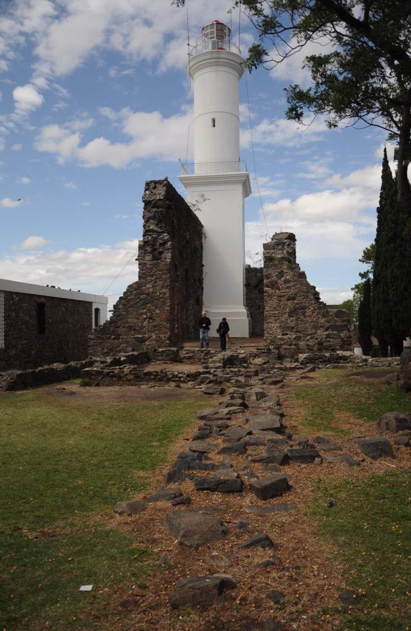 A lighthouse in Uruguay.