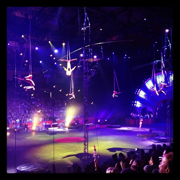 Ringling Brothers Circus (Taken with instagram)