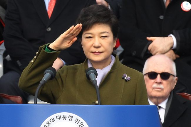 "globalpost :      SEOUL, South Korea — From both sides of the Korean Peninsula, South Korea's first female president, Park Geun-hye, has gotten a baptism by fire since she took office on Feb. 25.    On the one hand, Park is dealing with the much-publicized war threats from North Korea. The Pyongyang regime amplified rhetoric when the United Nations expanded sanctions last week.   On the other, the new president is embroiled in a domestic political quagmire, with parliamentary delays that even she acknowledged last week are ""unprecedented.""     For South Korea's first female president, a baptism by fire      Photo by Getty Images      South Korea's first female president!"