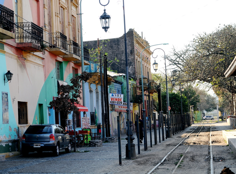 Along the Streets of Boca, Argentina