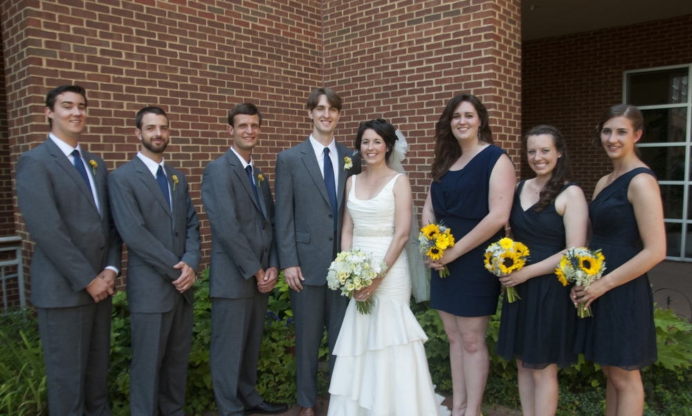 Britt and Mark's Bridal Party