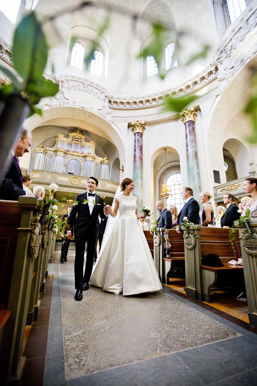 bröllopsfotograf Hedvig Eleonora kyrka