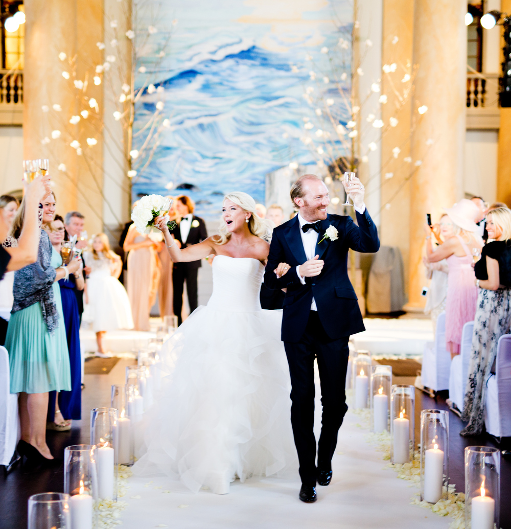 bröllop i Eric Ericsonhallen