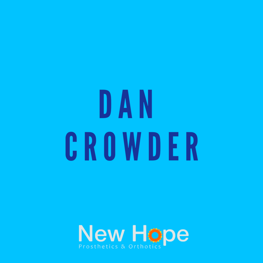 Dan Crowder   CP., LP., FAAOP.