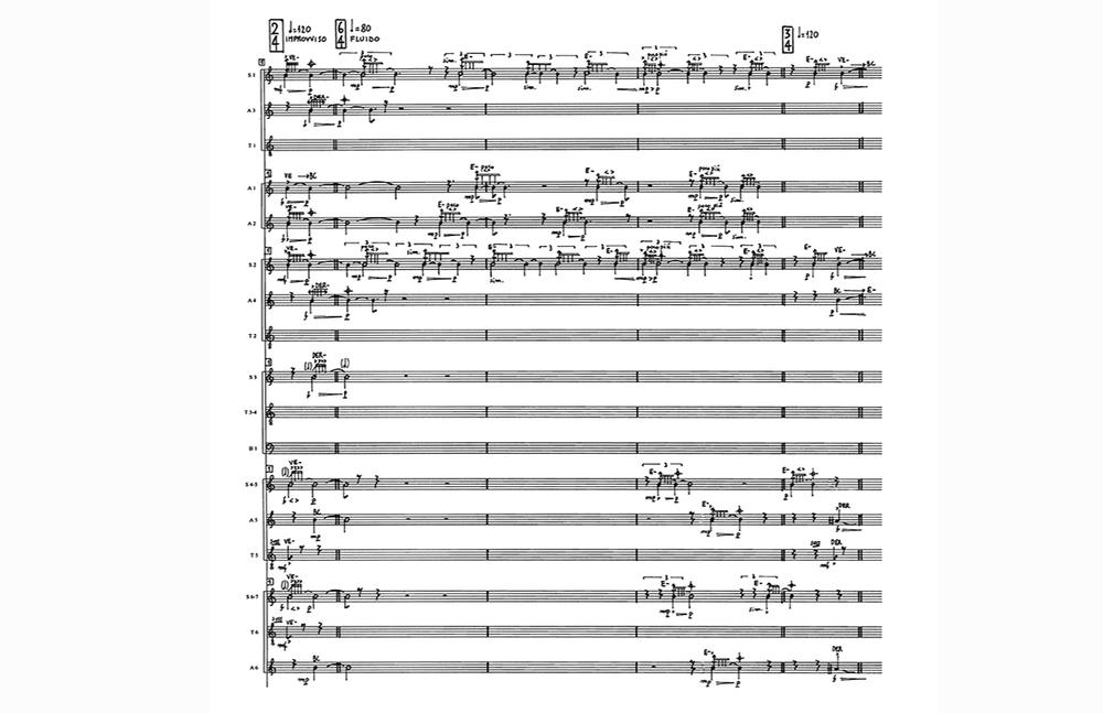 Anteterrae (2005), score by  Valerio Sannicandro