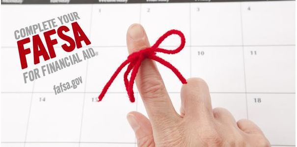 IT IS TIME TO COMPLETE YOUR FAFSA