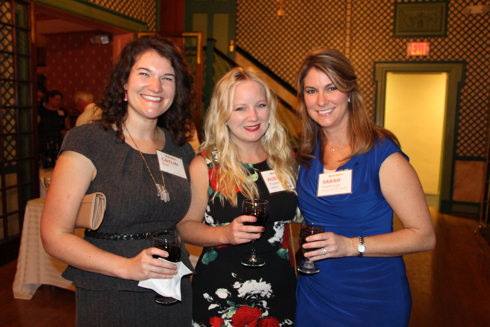 YPN Co-Chair Sarah Scarbrough (right)