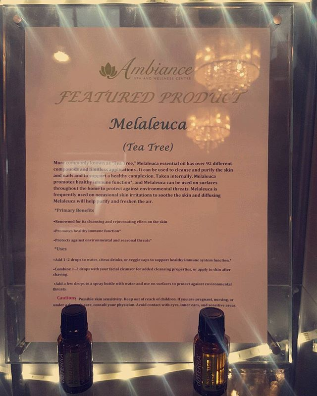 Don't Forget Melaleuca Is Our Featured Product This Month!!! #teatreewillsetyoufree