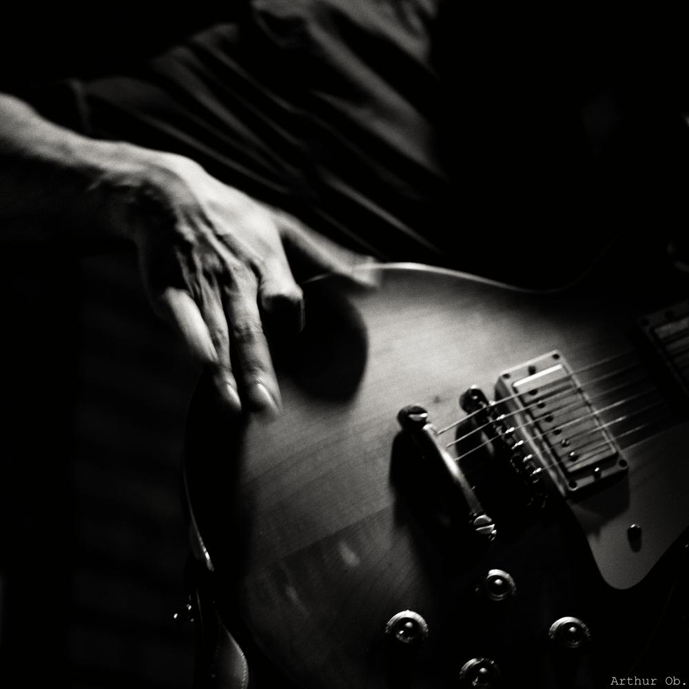 guitar as a percussive