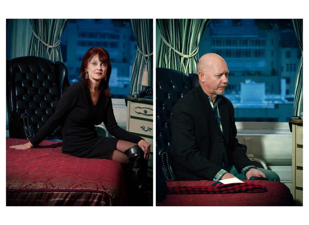 Linda Troeller and Lothar