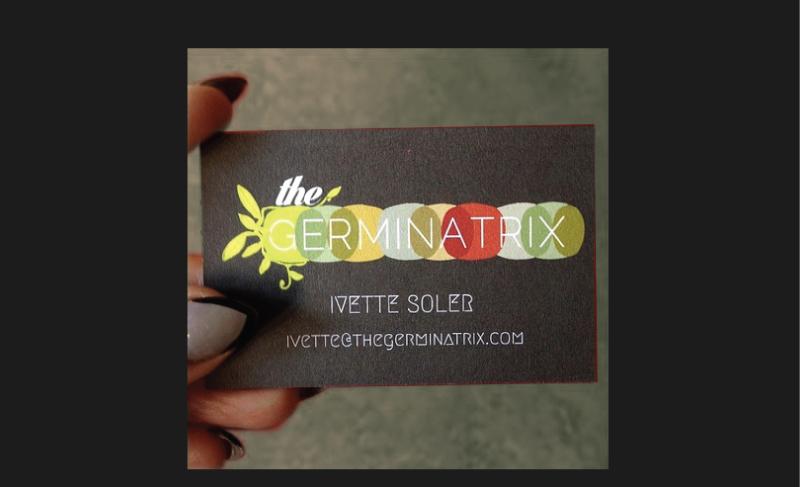 Logo design for The Germinatrix Plant Design