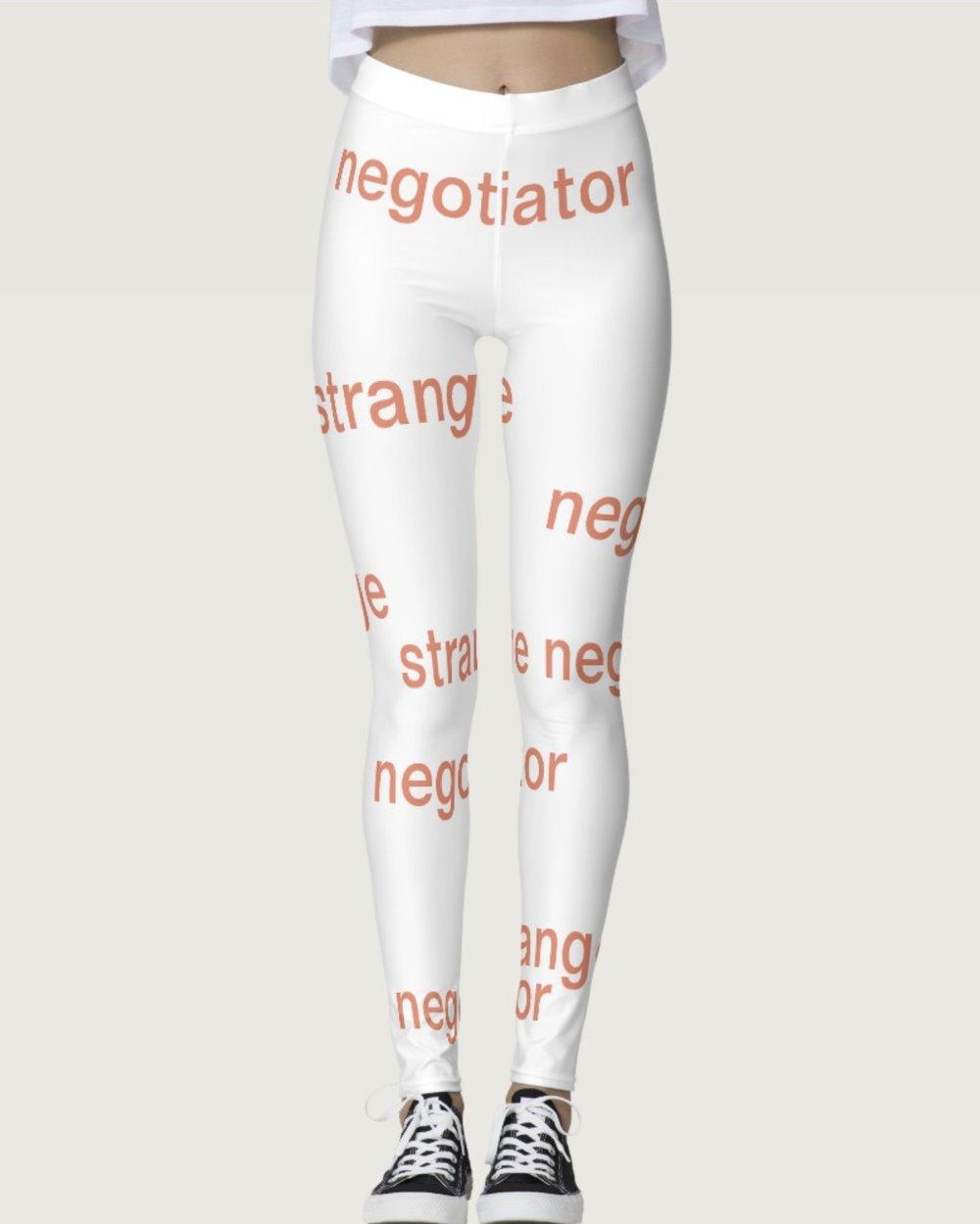 Strange Negotiator Leggings