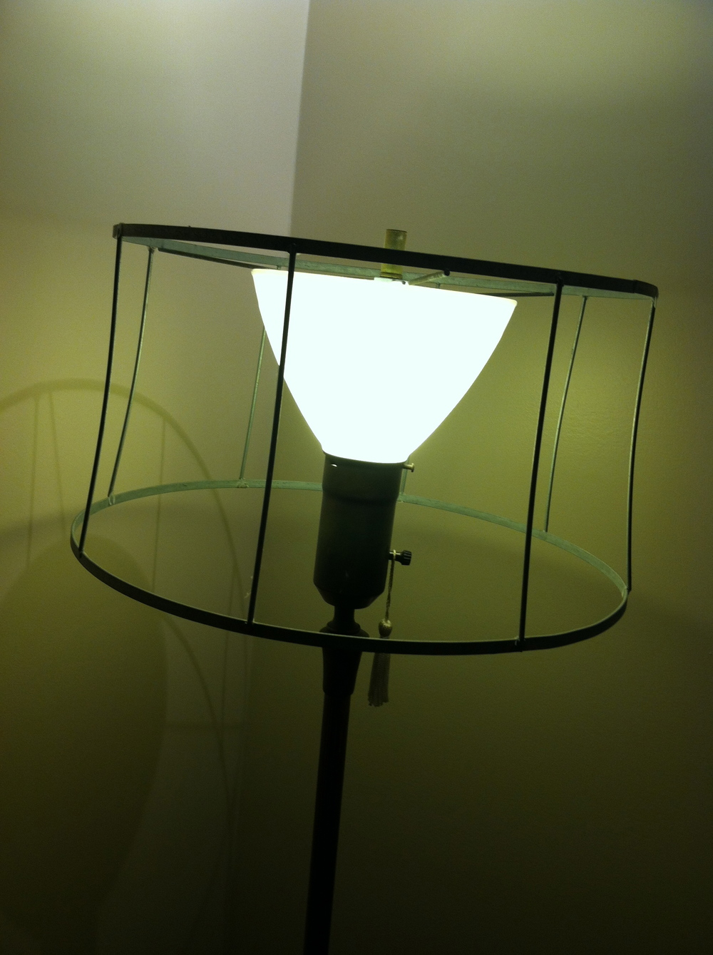 Old Lamp Before