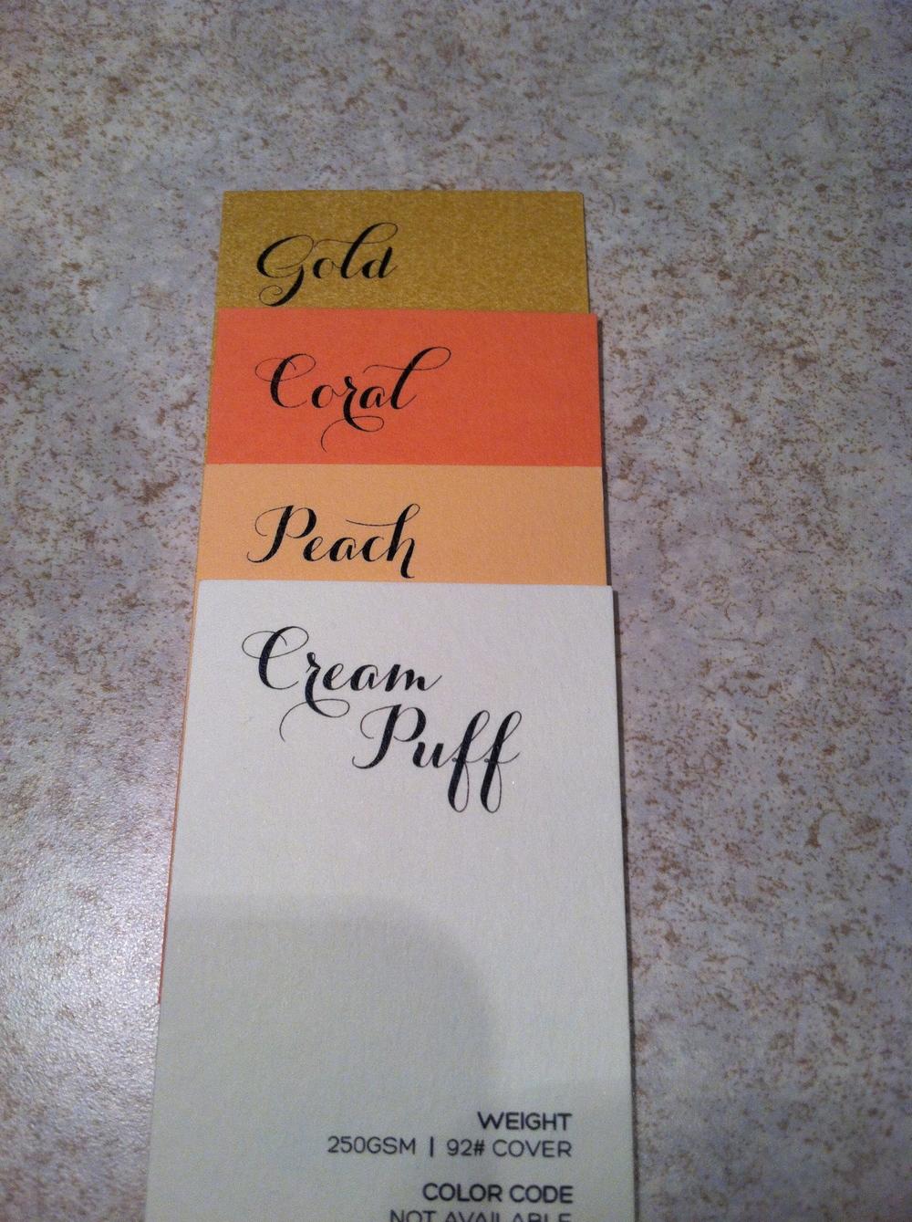 Popular Color Combos