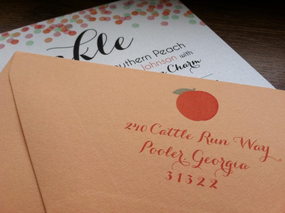 Love a matching envelope