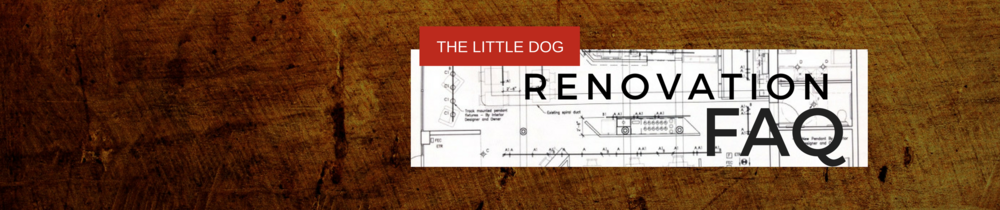 Little Dog Coffee Shop Renovation
