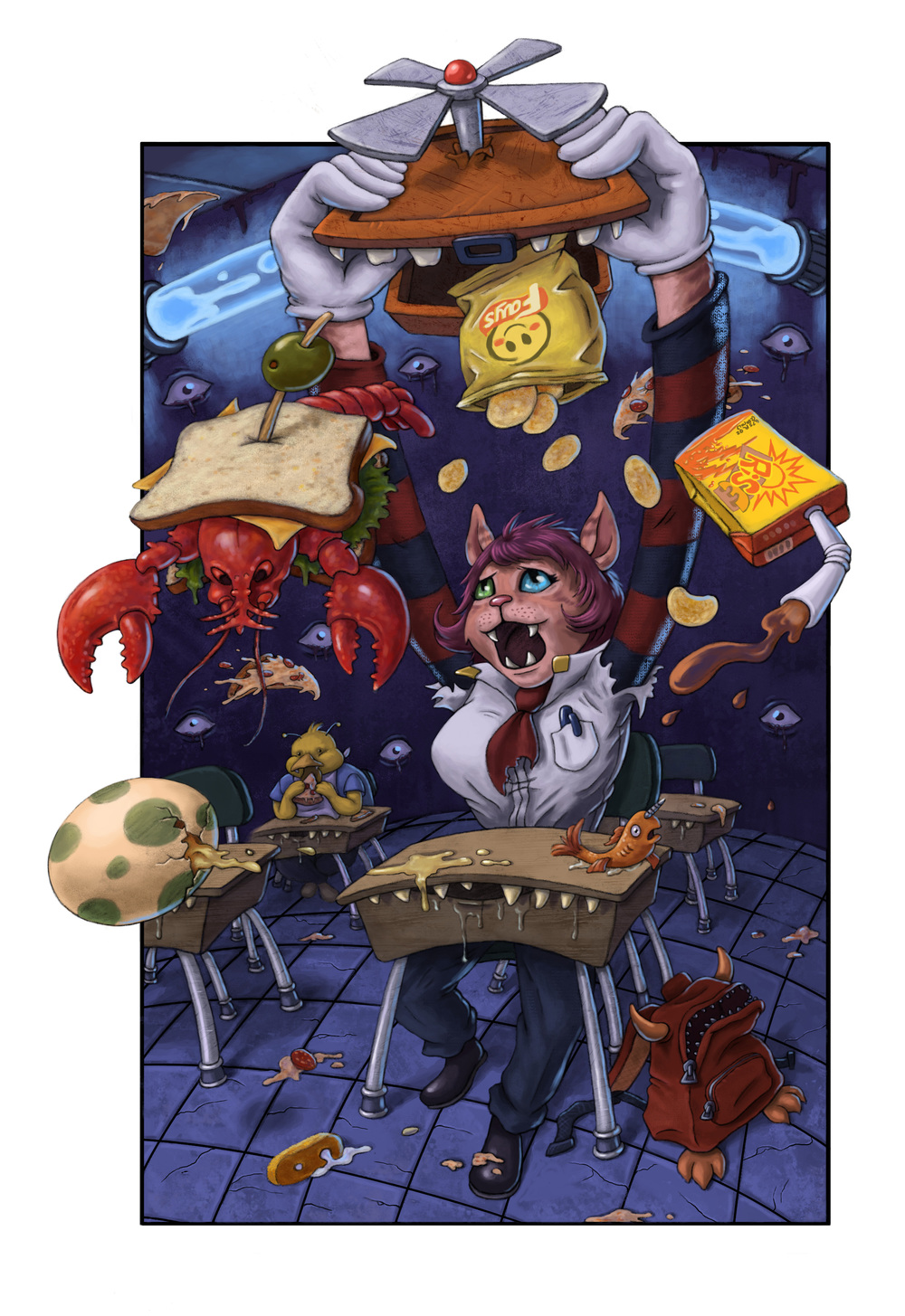 Odd School Series (scene 2)